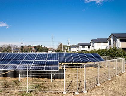 太陽光発電を安全に運用していくために フェンスの開発・製造