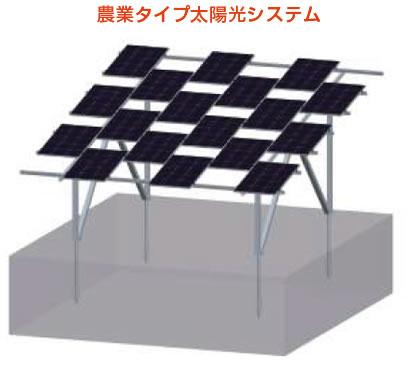 敷地に入る日射量を調整できる農地用架台など取り揃えております。 特殊架台
